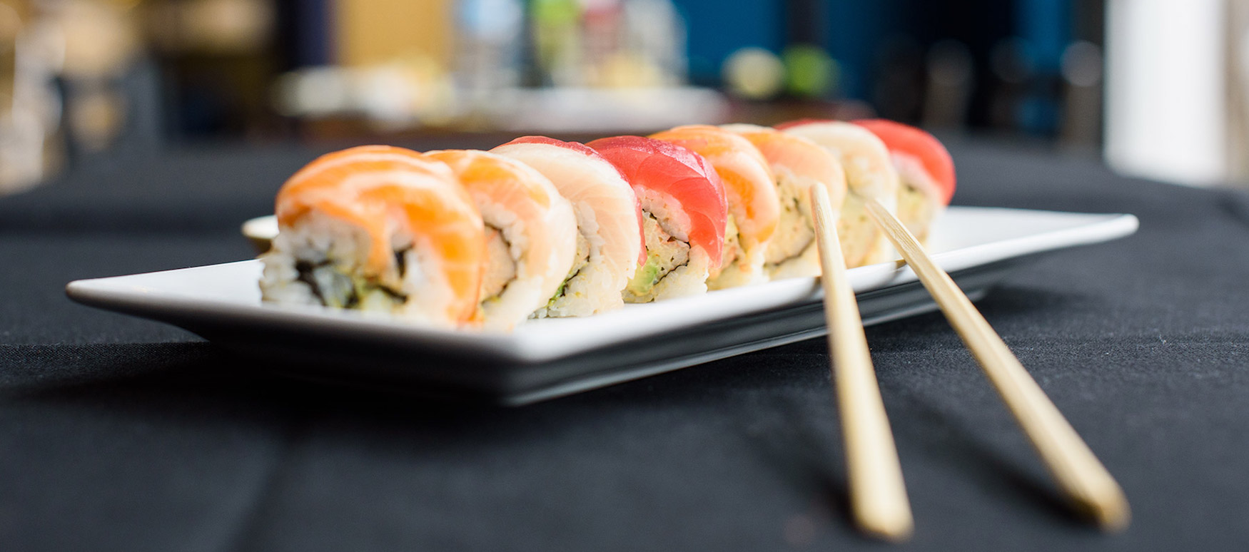 Fresh, Made to Order Sushi at The Warren Bar & Burrow