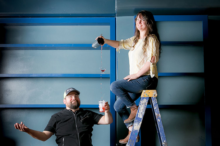 PITTSBURGH MAGAZINE - CARRIE CLAYTON AND SPENCER WARREN ARE STIRRING THINGS UP